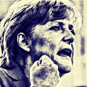 Merkel-in-blau-ganz-auf-Kampf-eingestellt