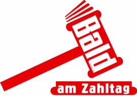 Bald am Zahltag Hammer Justit Gericht Endzeit Bild Logo 270breit