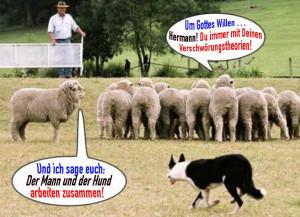 Um-Gottes-Willen-Hermann-Verschwoerungstheorie-Schafe-Hund-Schaefer-Mann-kolaboration-300x217