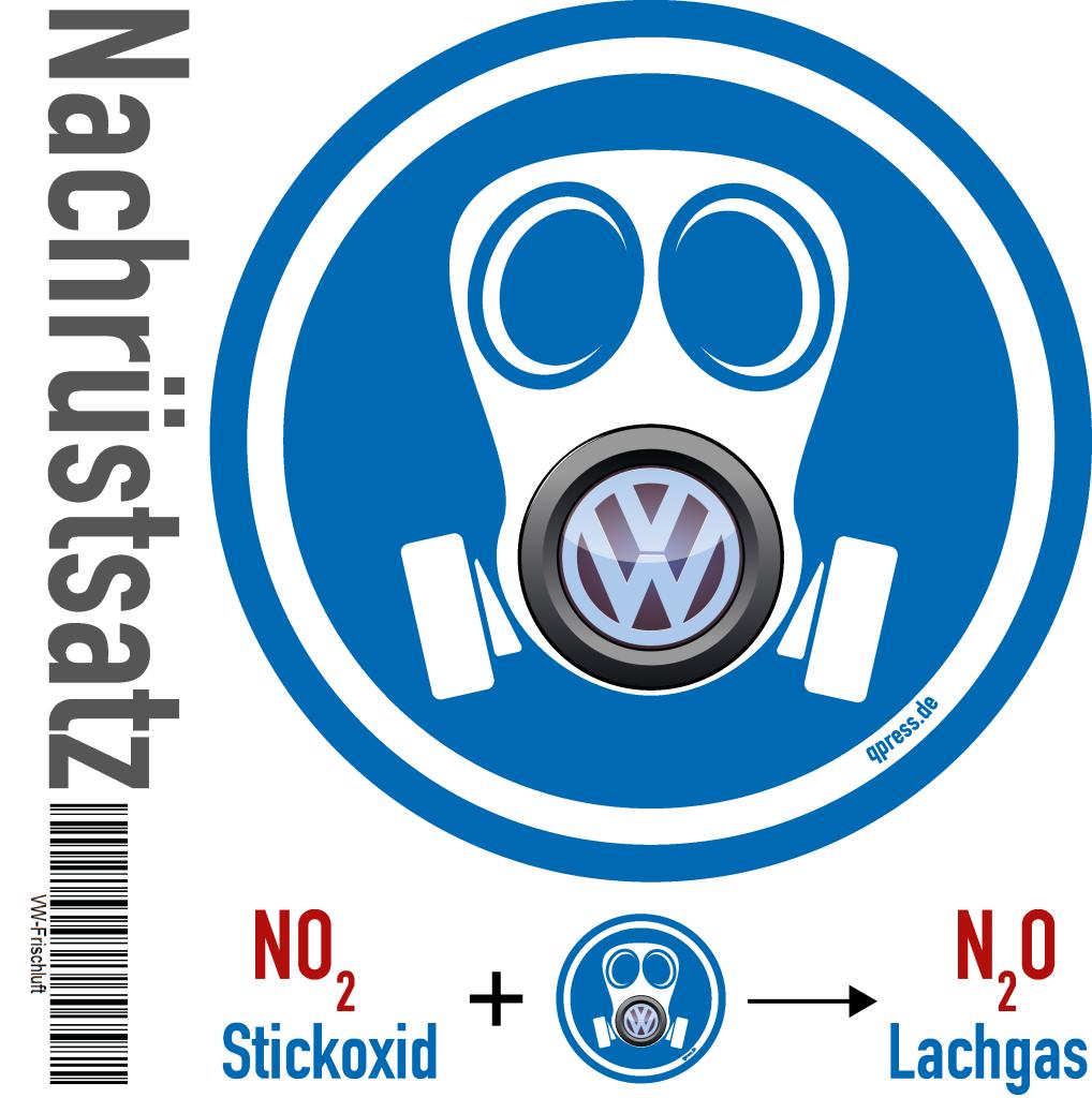 VW Abgasskandal die guenstigere Loesung VW-Frischluft